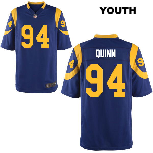 premium selection 11cc8 23a91 Robert Quinn Nike Youth Stitched Blue Los Angeles Rams Alternate Elite no.  94 Football Jersey