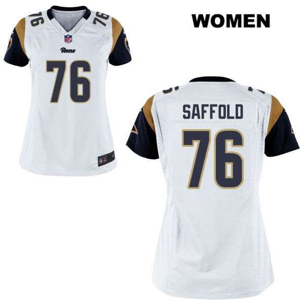70eaba185a3df0 ... cheap 76 football jersey stitched rodger saffold womens alternate white los  angeles rams elite nike no